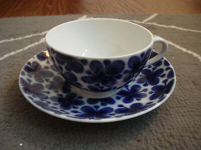 RORSTRAND MON AMIE SWEDEN cup & saucer