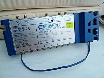 SPAUN ELECTRONIC DUO SMS 5800 NF  5 x 8 SMS  Multiswitch