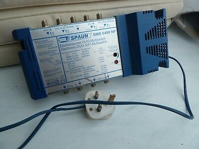 SPAUN ELECTRONIC DUO SMS 5400 NF  5 x 4 SMS  Multiswitch