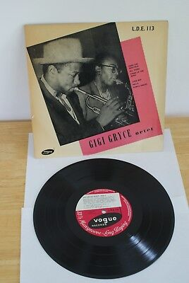 "Gigi Gryce Octet, Vintage Jazz 10""LP, on Vogue LDE 113"