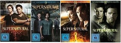 Supernatural Staffel 8-11 (8+9+10+11) DVD Set NEU OVP