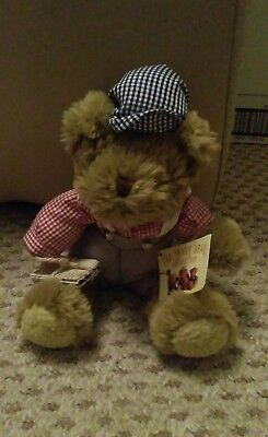 The Teddy Bear Collection Nick the Newsboy with tag