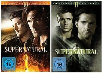 Supernatural Staffel 10+11 DVD Set NEU OVP