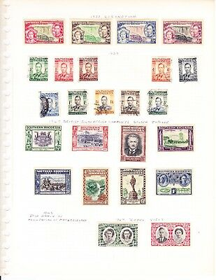 Timbres Colony Anglaise South Rhodesia
