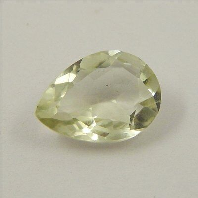 5 cts Natural Green Amethyst Gemstone Must See Loose Cut Faceted R#192-13