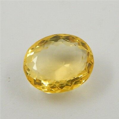 18.9 cts Natural Yellow Citrine Gemstone Beautiful Loose Cut Faceted R#260-27