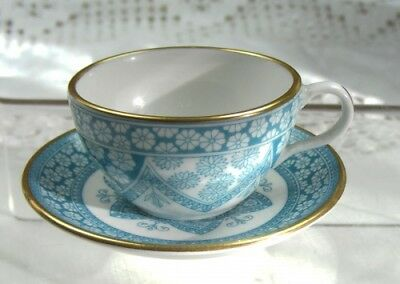 Pretty Spode Miniature Cup and Saucer