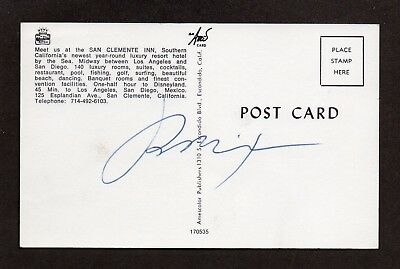 RICHARD NIXON U.S. PRESIDENT Variant SIGNED IN PERSON Western White House PC