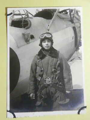 WW2 Japanese Navy Picture of the army pilot.