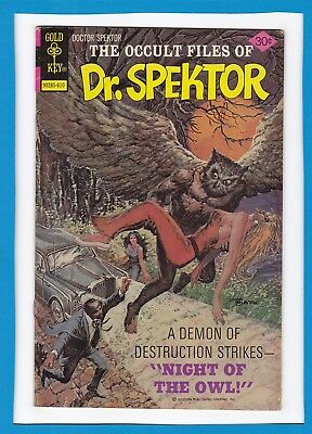 The Occult Files Of Dr. Spektor #22_October 1976_Very Good_Gold Key Issue!