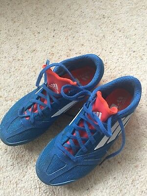 Adidas running spikes size 4