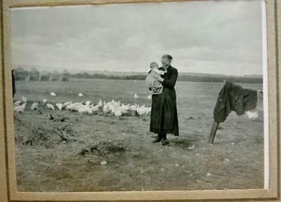 2 ALBUMS 320+ PHOTOS SCOTTISH FAMILY 1920s/30s FARMING STIRLING PALMER McFARLANE