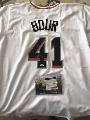 Justin Bour Signed Jersey