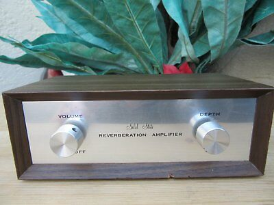Solid State Reverberation Amplifier  Olson  Noris