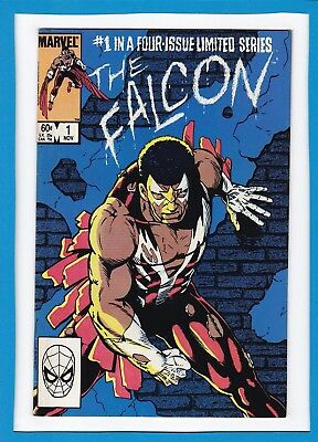The Falcon #1_November 1983_Very Fine+_Marvel Comics 4 Part Limited Series!
