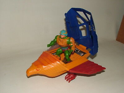 Masters Of The Universe Motu Vintage Action Figures Talon Fighter & Man At Arms