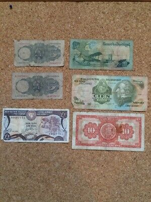 Collection Of Bank Notes X 6