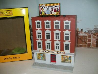MTH O Gauge No.30-90172 Melissa's House Of Costumes 4 Story Building With Box