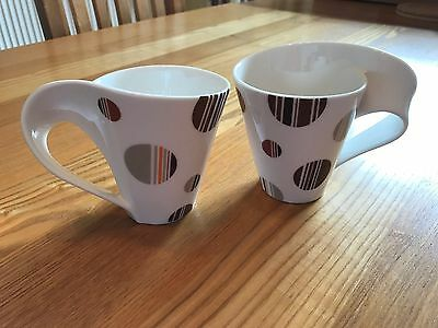 Villeroy & Boch New Wave Cups in Brown