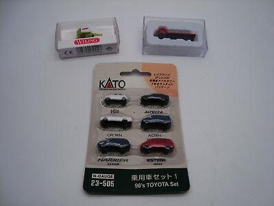 Wiking/Base Toys/Kato group of vehicles Spur N gauge NEW boxed