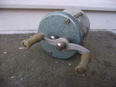 vintage Swedish abu record No 1300 fishing reel with instructions