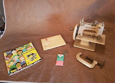 Vintage Singer #29962 Childs..with Clamp Etc..made In Great Britian
