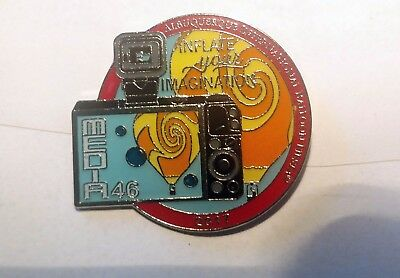 2017 AIBF Balloon Fiesta Media Pin