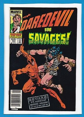"DAREDEVIL #202_JAN 1984_VERY FINE/NEAR MINT_""SAVAGES""_1st APPEARANCE MICAH SYNN!"