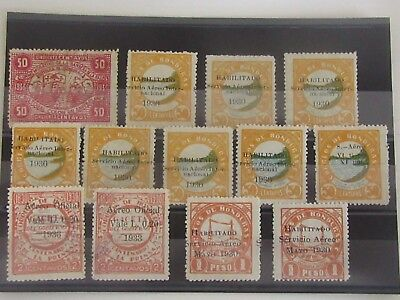 HONDURAS  - Old Stamps - AIRMAIL - Used / Mint MH - VF - r59e3989