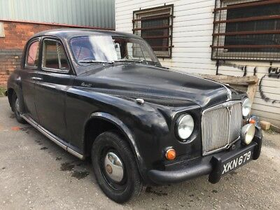 1956 Rover 90 with LPG gas conversion