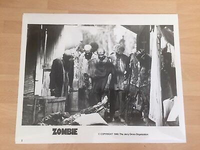 Zombi 2 9 X US Cinema Stills Photo Repro Fulci 1979