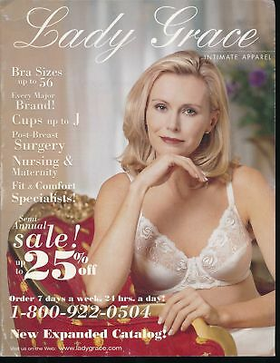 LADY GRACE INTIMATE APPAREL 1999 Lingerie Catalog PLUS SIZES Girdles vv