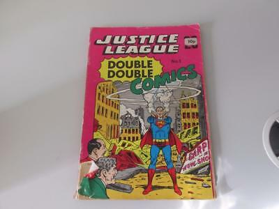 DC Justice League Double Double Comics No1 1966 Silver Age
