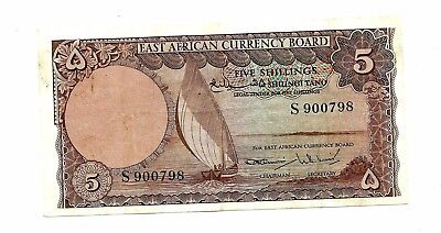 East Africa (P45) 5 Shillings 1964
