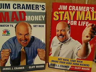Mad Money  watch tv get rich Stay Mad for life Jim Cramer's Books CNBC