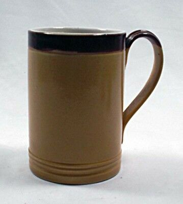 A salt glaze Royal  Doulton beer tankard, English c.1900