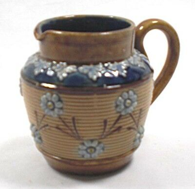 A  Royal  Doulton salt glaze ceramic jug, English c.1900