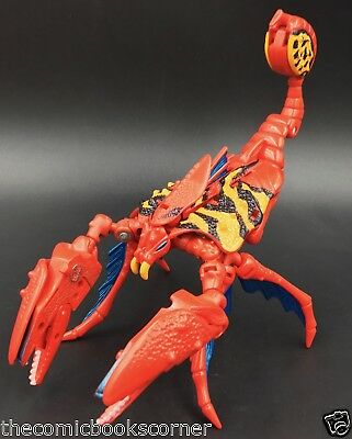 Beast Wars Transformers 2000 Deluxe Mutant POISON BITE 100% Complete