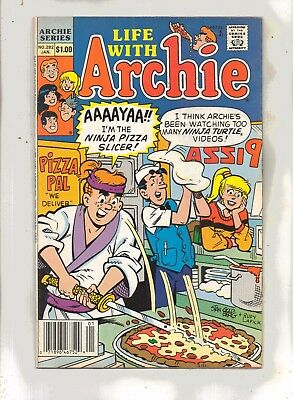 LIFE WITH ARCHIE No 282 with BETTY, VERONICA, REGGIE and JUGHEAD