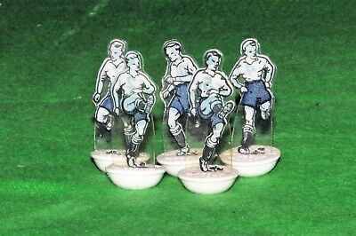 Subbuteo Newfooty Celluloid Team Preston 5 Spare Players