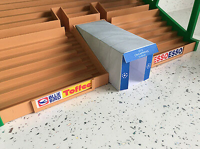 Champions League Players Tunnel for Subbuteo Stadium Grandstand