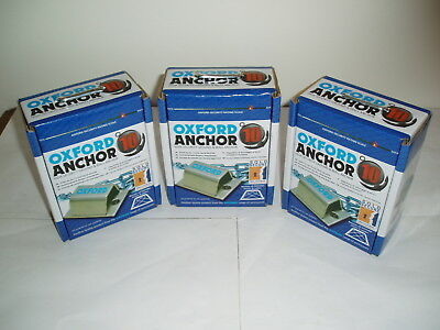 Oxford Anchor High Secruity Ground & Wall Anchor X 3 New & Boxed