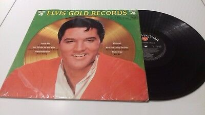 Elvis Presley Golden records Vol 4 album MEGA RARE RED SPOT BLACK Label !!!