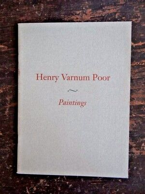 Henry Varnum Poor (1887-1970): Paintings