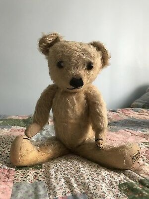 Vintage Merrythought Teddy Bear