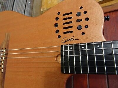 Godin Multiac ACS SA - nylon string cedar top acoustic electric guitar