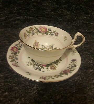 Aynsley Bone China Duo Cup and Saucer