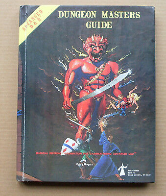 Advanced Dungeons and Dragons, Dungeon Masters Guide, 1979 Edn, ISBN 0935696024