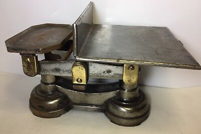 G.p.o Postage Scales Broad Arrow Wartime? 5Kgs