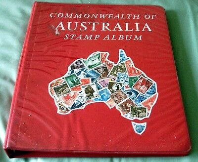 600+ Australia Stamps In Stanley Gibbons One Country Illustrated Album 1913-1980